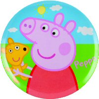 Peppa Pig melamine plate 20cm  sc 1 st  Themed Partyware and Children\u0027s Party Supplies & Peppa Pig BBS Melamine tablewarePeppa Pig Themed Party Supplies ...