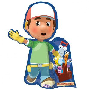 Handy manny supershape foil balloon for Handy manny decorations