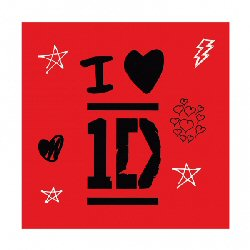 One Direction Happy Birthday Letter Banner