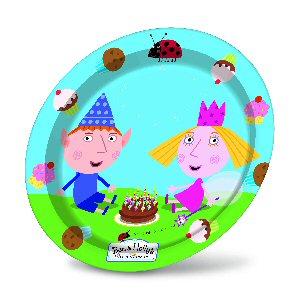 Ben and Holly Party plates 23cm