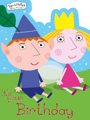 Ben Hollys Little Kingdom Party Supplies Birthday Cards