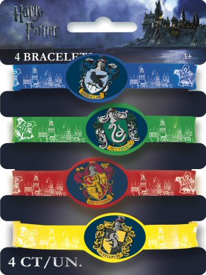 Harry Potter Party Rubber Braclets