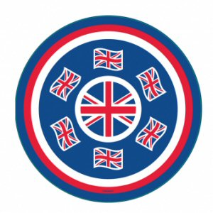 Details about  /6pcs Union Jack Flag Party Tableware Decoration Plastic Cutlery VE Day Royal