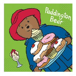 Paddington Bear Luncheon Napkins