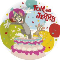 BBS Party Supplies from Italy Peppa Pig Plates Hello Kitty Tom