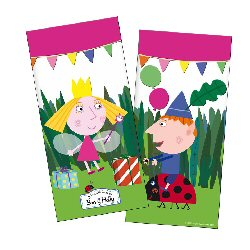 Ben and Holly Party Loot bags
