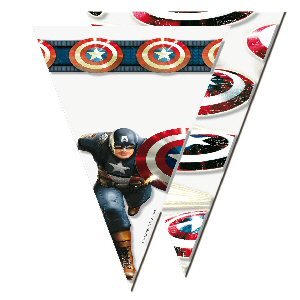 6 Marvel/'s AVENGERS POWER Children/'s Party Cello Loot Favour Treat Cone Bags
