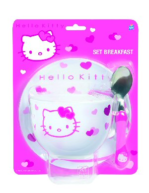 CLEARANCE  Hello Kitty Flowers Stickers Party Pack of 6 Sheets-Loot Bags Fillers