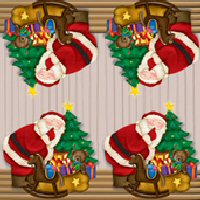 Santa's party napkins