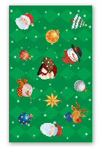 Santa's party tablecover